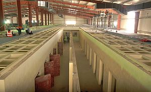 Parwan Detention Facility - Construction of the new detention facility