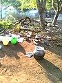 Cooking vessals in village.jpg