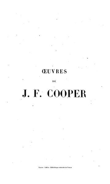 File:Cooper - Œuvres complètes, éd Gosselin, tome 19, 1842.djvu