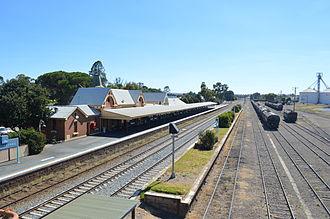 Cootamundra - Cootamundra railway station