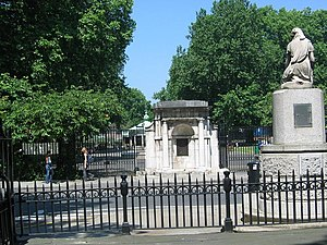 Coram's Fields - Entrance gate to Coram's Fields