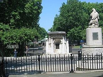 Coram's Fields - Entrance gate to Coram's Fields
