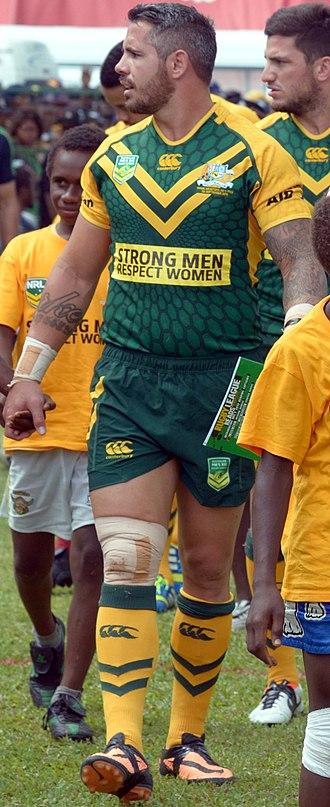 Corey Parker (rugby league) - Image: Corey Parker PM XIII