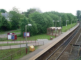 Corkerhill railway station