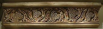 Cornice plaster from Old city of Nishapur