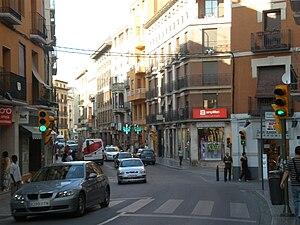 Huesca - El Coso street.