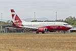 Coulson Aviation (N137CG) Boeing 737-3H4(WL) at Albury Airport.jpg