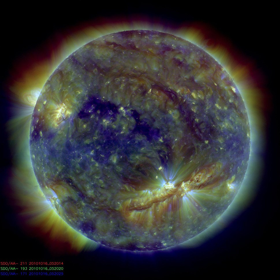Crackling with Solar Flares