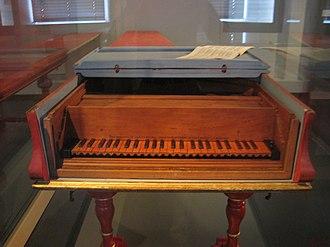Bartolomeo Cristofori - The 1726 Cristofori piano in the Musikinstrumenten-Museum in Leipzig
