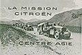 Croisière Jaune. Photographie du groupe Pamir sur une route désertique en 1931.jpg