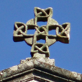 Triquetra - Image: Cruz de Santa Susana