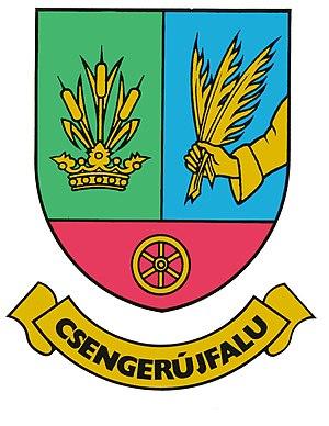 Csengerújfalu - Image: Csengerújfalu címere
