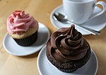 Cupcakes, chocolate and strawberry flavour.jpg