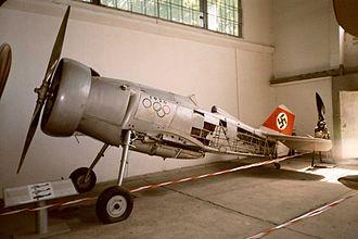 Ernst Udet - Udet's Curtiss Hawk Export (D-IRIK) as on display in the Polish Aviation Museum.