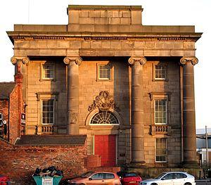 Curzon Street railway station - The surviving entrance building
