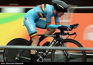 Cycling at the 2016 Summer Olympics – Women's road time trial - Ann-Sophie Duyck.jpg