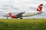 Czech Airlines, OK-NEN, Airbus A319-112 (16456488015) (2).jpg