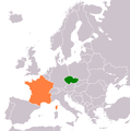 Czech Republic France Locator.png