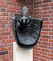 Dülmen, Skulptur -Anna Katharina Emmerick- (Hospiz) -- 2014 -- 3187.jpg
