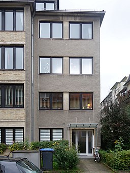 Tiergartenstraße in Düsseldorf