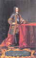 D. João V, Biblioteca Joanina (1725) - Domenico Duprà.png
