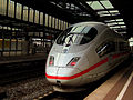 DB ICE TRAIN AT DUISBERG HBF GERMANY APRIL 2012 (7090122169).jpg