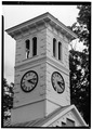 DETAIL, BELL TOWER - St. Stephen's Episcopal Church, 51 North Main Street, Mullica Hill, Gloucester County, NJ HABS NJ,8-MUL,2-6.tif