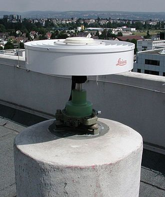 Geodetic control network - Typical GNSS reference station