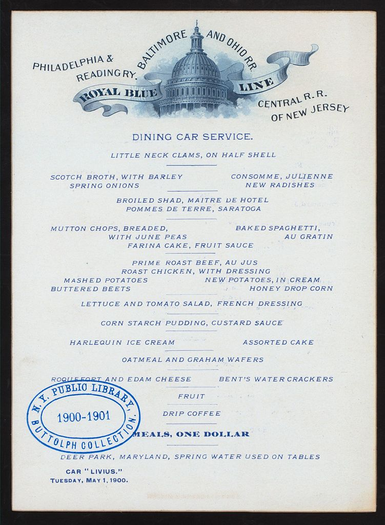 File Dining Car Service Meals Held By Baltimore And Ohio Rr Royal Blue Line At Livius Nypl Hades 273676 467091 Jpg