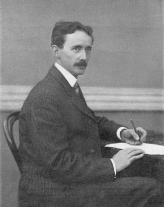 Daniel McFarlan Moore - 1906 photograph taken by the light of a Moore lamp