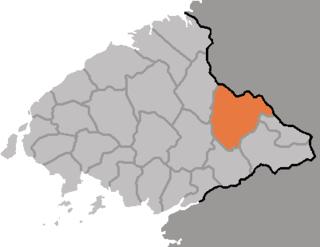 Unsan County County in North Pyŏngan, North Korea