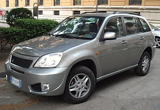 Chery Tiggo - dr5, assembled in Italy