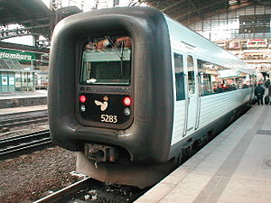 Rail transport in Denmark - DSB IC3