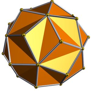 Small triambic icosahedron - Image: DU30 small triambic icosahedron
