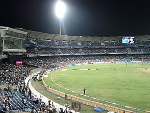 DY Patil Stadium - DY Patil Stadium during an IPL match