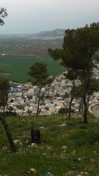 Daburiyya - View of Daburiyya