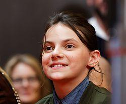 Dafne Keen Press Conference Logan Berlinale 2017.jpg