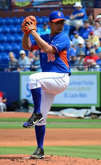 Daisuke Matsuzaka - Matsuzaka with the New York Mets in 2014