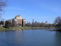 Dallas downtown skyline seen from Lake Cliff.jpg