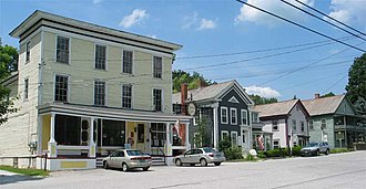 Danby, Vermont - Main Street in Danby