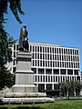 Daniel Webster statue and Australian embassy.JPG