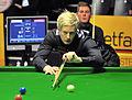 Daniel Wells and Neil Robertson at Snooker German Masters (DerHexer) 2013-01-30 05.jpg