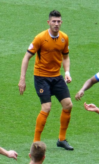 Danny Batth - Batth playing for Wolverhampton Wanderers in 2014