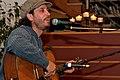 Danny Schmidt plays house concert in Boalsburg PA April 2008.jpg
