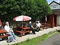Dartmoor Inn, Merrivale, beer garden - geograph.org.uk - 1461549.jpg