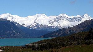Cordillera Darwin - Stoppani Glacier in Cordillera Darwin