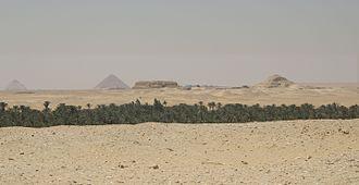 Acanthus (Egypt) - Landscape around Acanthus.