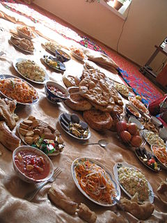 Central Asian cuisine Culinary traditions of Central Asia