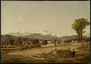 White Mountains from North Conway, New Hampshire