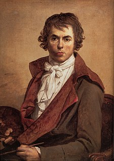 Jacques-Louis David, Autoritratto 1794